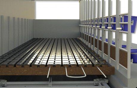Floating Farm kalverenhuisvesting calf care system jongvee