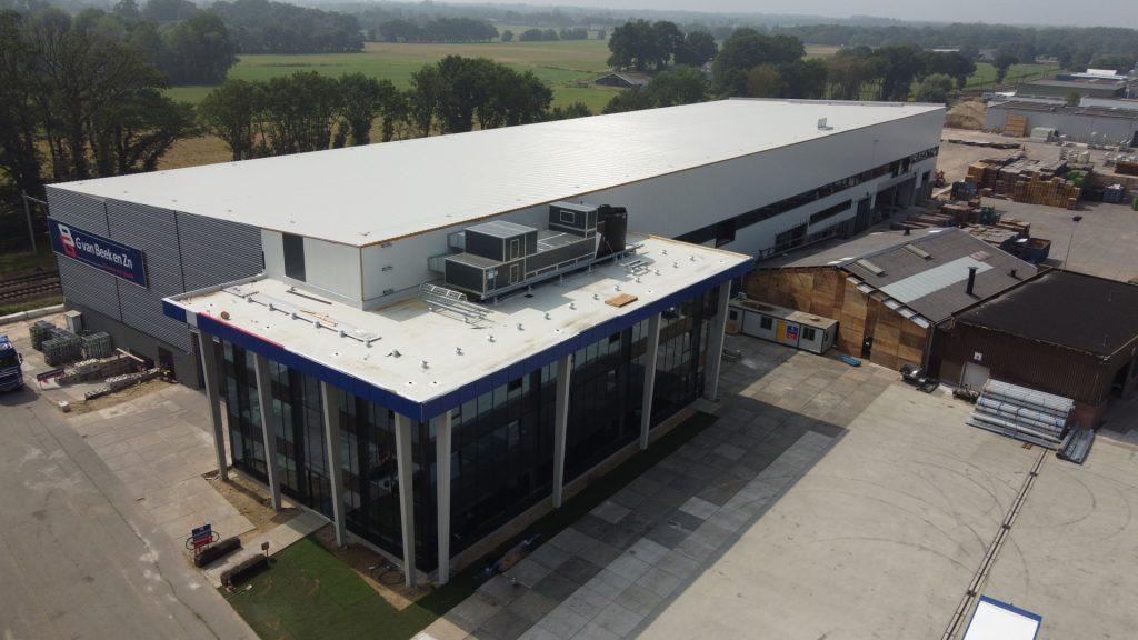 Fabriek nieuwbouw G. van Beek en Zn.