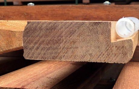 Vloerverwarming geïntegreerd in de roostervloer